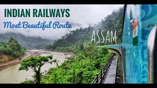 TRAIN TO AGARTALA | Beautiful Humsafar Express Complete Journey Through Scenic North East India