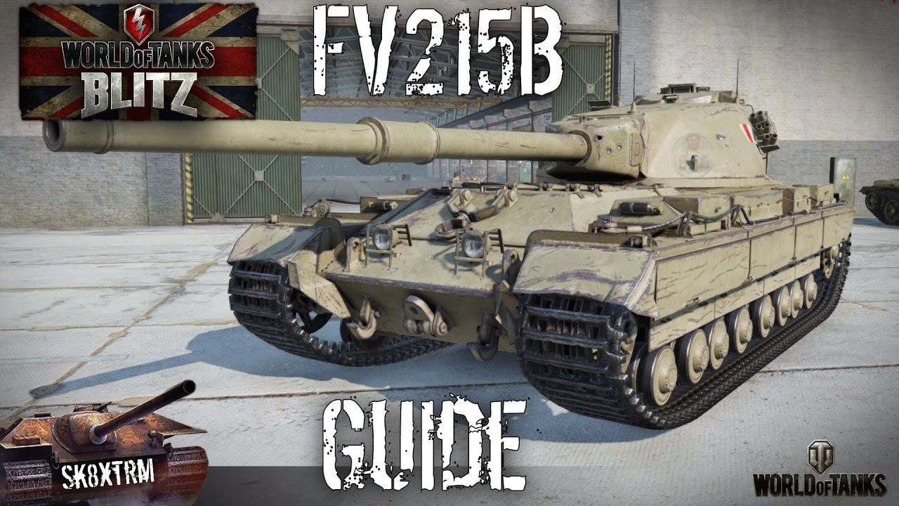 FV215b - Guide + Review - Wot Blitz