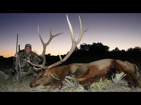 Monster New Mexico Elk With A McWhorter 7mm STW