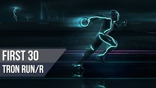 TRON RUN/R - First 30 of Gameplay