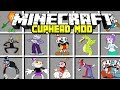 Minecraft CUPHEAD MOD / CUPHEAD, MUGMAN, KING DICE, BEPI CLOWN & MORE!   Minecraft Modded Minigame