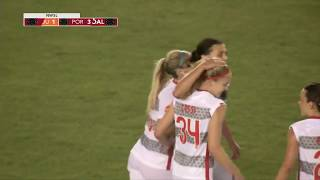 Goal: christine sinclair scores her seventh goal of the season