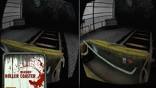 vr roller coaster horror scary 3d 360 video android apps google cardboard game 2017 new mobile