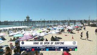 Vans US Open of Surfing: Round Three, Heat 8