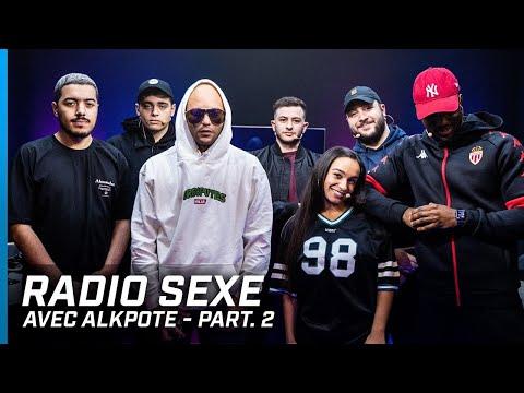 Youtube: L'EMPEREUR ALKPOTE NOUS RACONTE UNE ANECDOTE DANS RADIO S*XE part.2