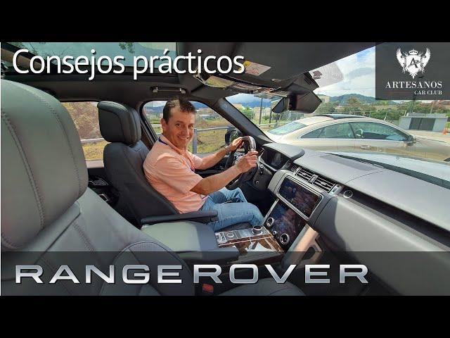 Consejos prácticos Range Rover Vogue   Artesanos Car Club
