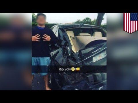 Teen car wreck selfie: Florida teen posts smiling pic after fleeing fatal car wreck - TomoNews