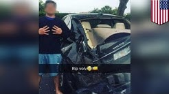 Teen car wreck selfie: Florida teen posts smiling pic after fleeing fatal car wreck - TomoNews