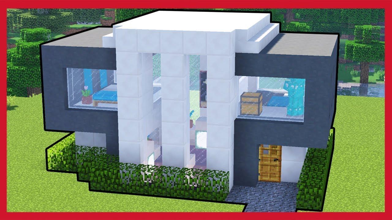 Minecraft come costruire una casa moderna youtube for Costruzioni case moderne
