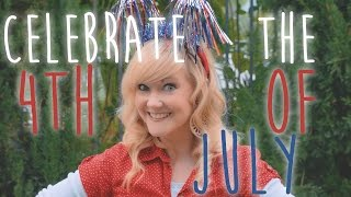 4th of July Song for Kids - Celebrate the 4th of July | Panther and Bunnycat