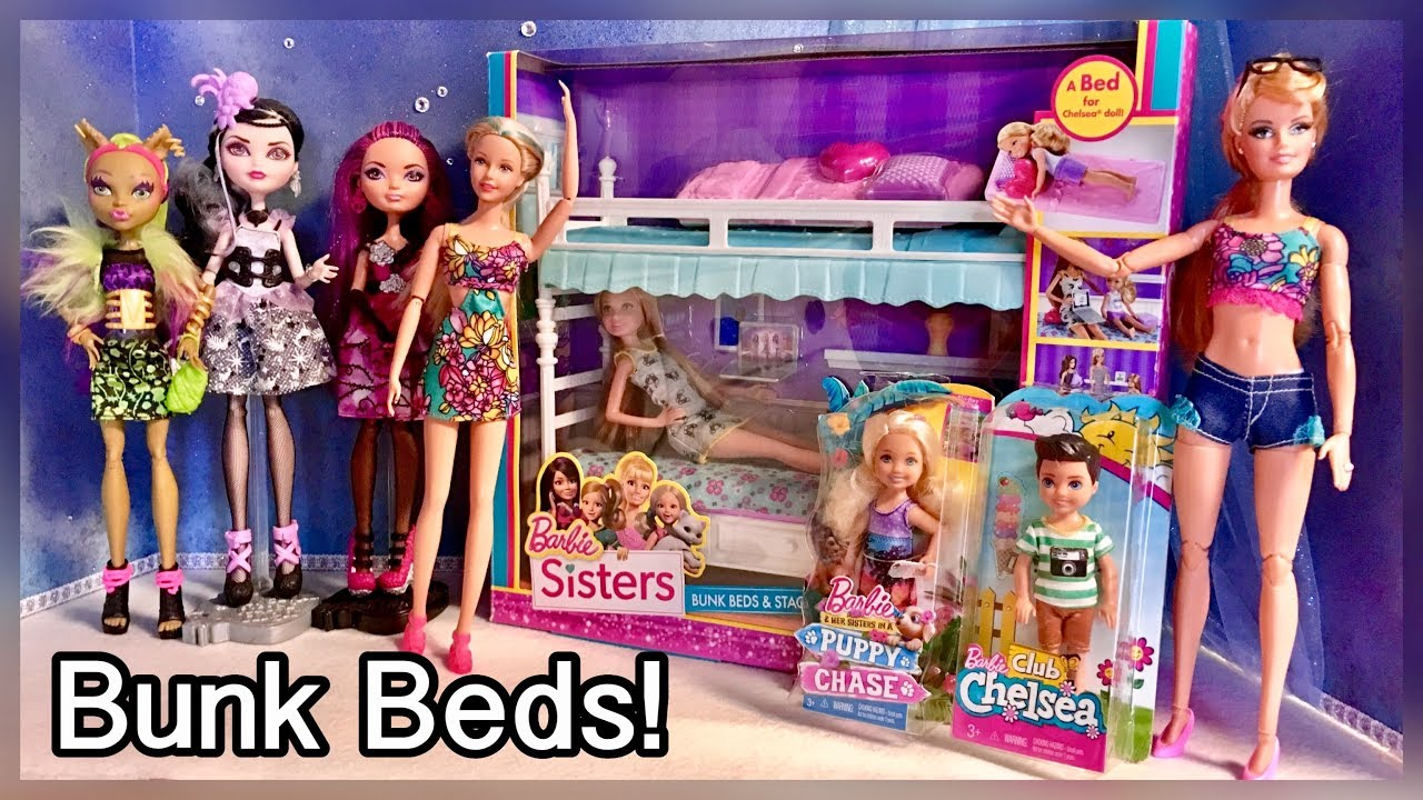 Barbie Sisters Bunk Beds Stacie Doll