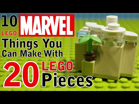 Download 10 Marvel things You Can Make With 20 Lego Pieces