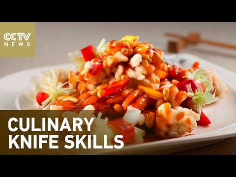 Discovering Chinese cuisinePart 2- Culinary knife skills