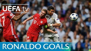Watch all nine of Ronaldo's goals against Bayern