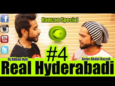 Real Hyderabadi #4    Ramzan Special    best Comedy Video    DJ Adnan Hyd     Actor Abdul Razzak   