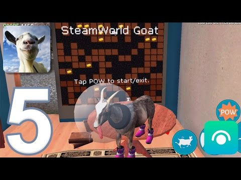 Goat Simulator - Gameplay Walkthrough Part 5 - Goat City Bay Completed (iOS, Android)