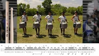 2014 Blue Knights Snare Line - LEARN THE MUSIC!