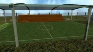 'Профессионал': поле для мини-футбола (проект)