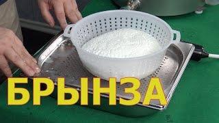 Приготовление ПРОСТЕЙШЕГО сыра Брынза / Имеретинский / домашний сыр