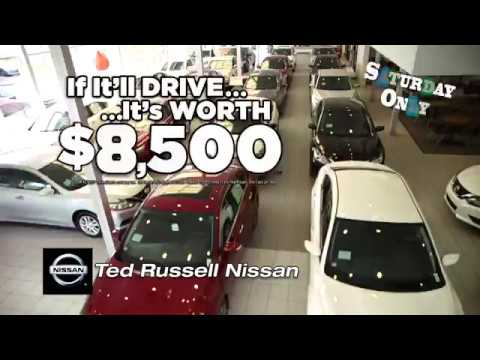 ted russell nissan - if it'll drive it's worth $8,500 - youtube