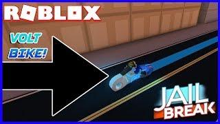 FINALLY BUYING THE VOLT BIKE IN ROBLOX JAILBREAK!