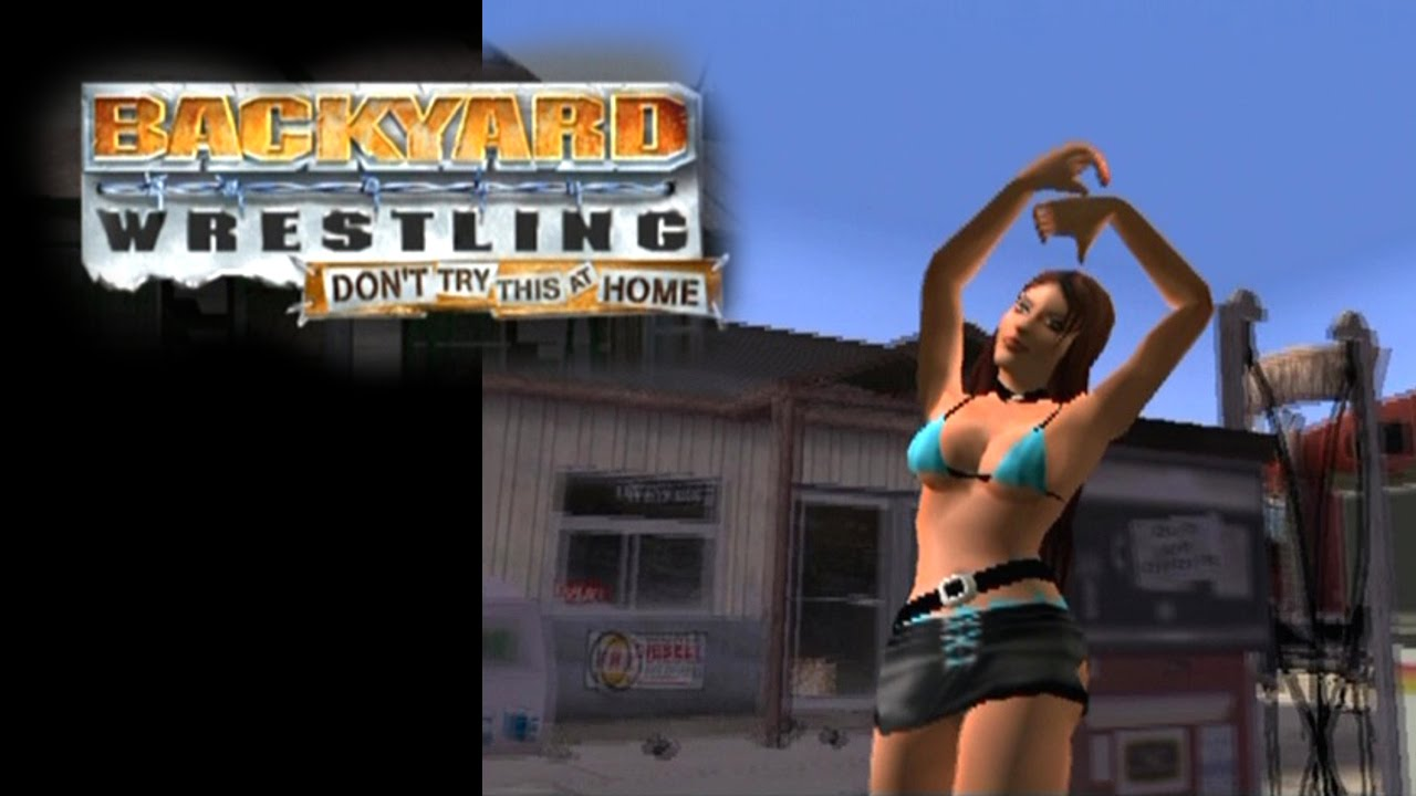 backyard wrestling don u0027t try this at home ps2 youtube