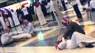 فعالية الموت والأكفان تفاجئ زوار مركز تجاري في #الرياض