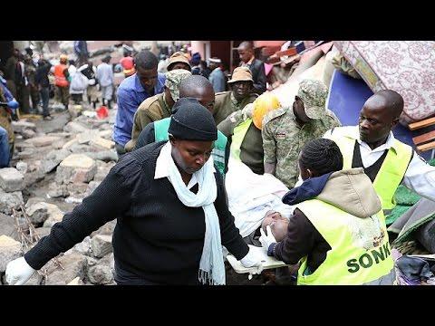 Altı Katlı Bina Enkazından Mucize Kurtuluş