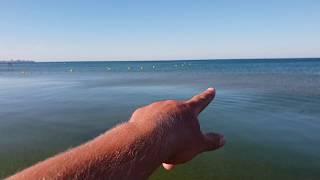 Черное море - 10.08.2018 - 7.30 утра КАМКА И ЧИСТАЯ ВОДА