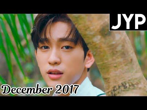 [TOP 30] Most Viewed JYP MVs [December 2017]