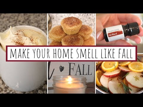 5 WAYS TO MAKE YOUR HOME SMELL LIKE FALL | Cozy, Autumn Scents | Simply Earth Essential Oils October
