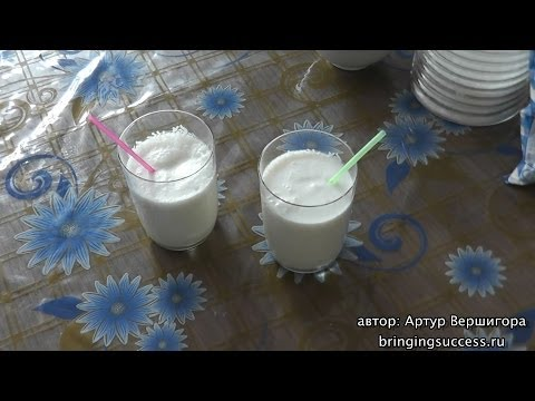 Как приготовить молочный коктейль по рецепту, который используют в кафе, барах и ресторанах