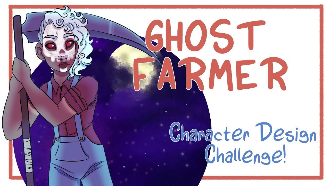 GHOST FARMER - Character Design Challenge - Random Aesthetic Generator!