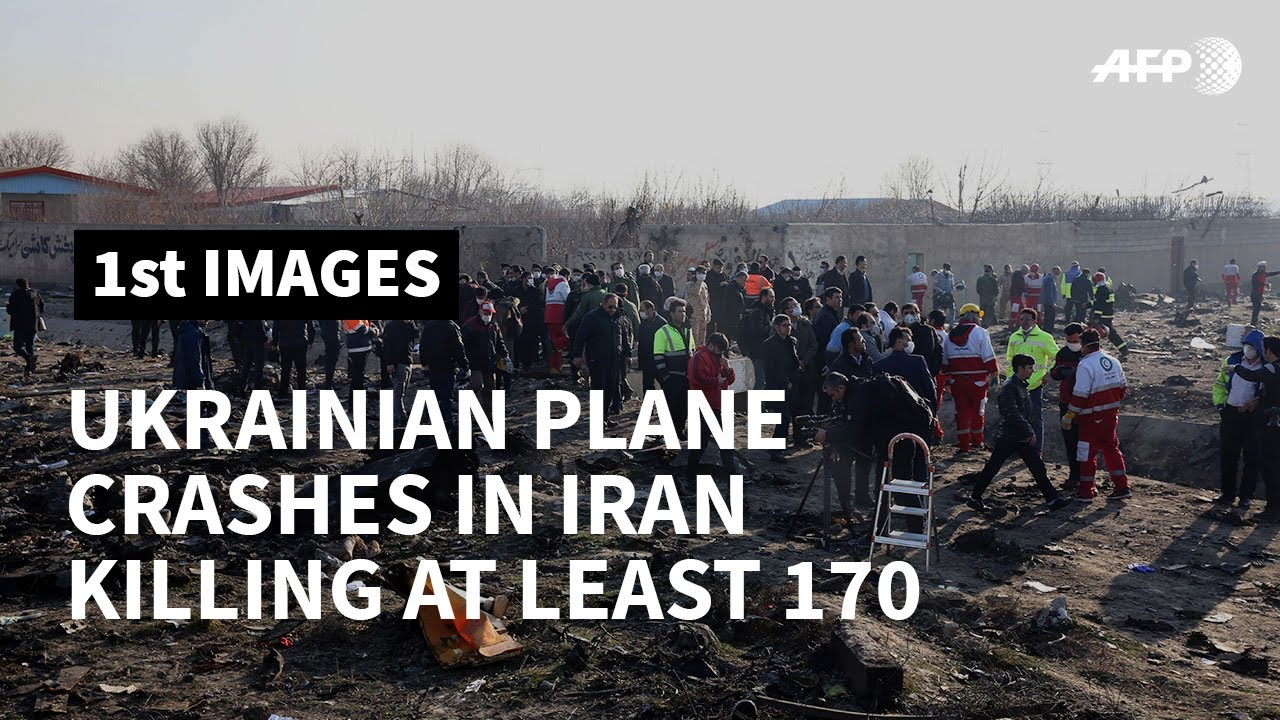 Ukrainian Boeing 737 with at least 170 aboard crashes in Iran
