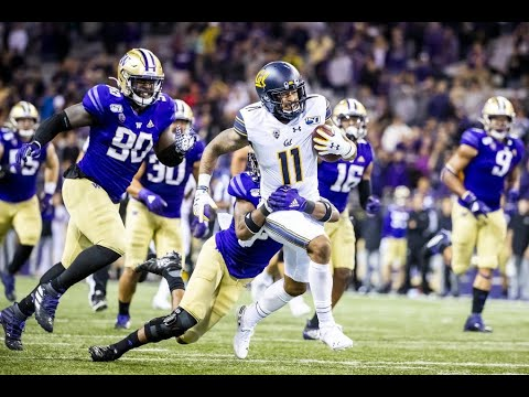 2019 Cal Golden Bears Vs. #14 Washington