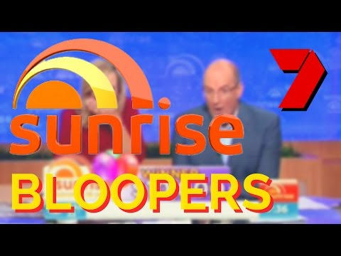 Best Sunrise BLOOPERS on Channel 7 - FAILS ON LIVE TV