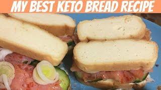My best keto bread recipe | Almond flour bread