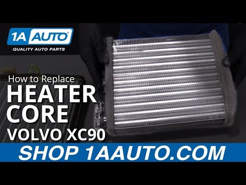 How to Replace Heater Core 03-14 Volvo XC90