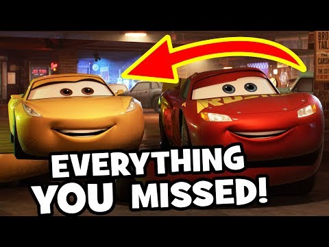 CARS 3 Easter Eggs & Everything YOU MISSED