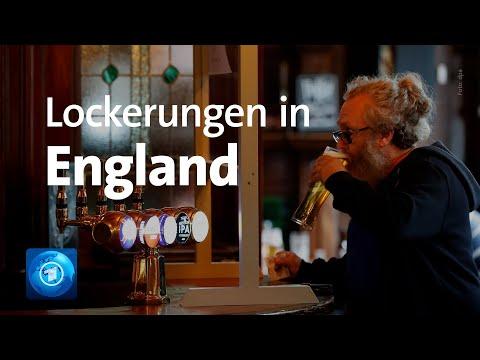 Corona-Lockerungen in England: Pubs öffnen wieder