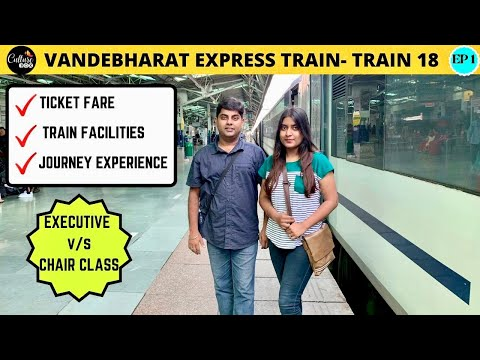 Vandebharat express train Delhi to Jammu tawi, Executive Class v/s Chair car review-J&K series EP -1