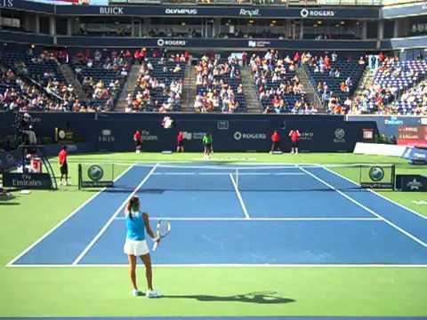 Serena Williams vs Julia Goerges Rogers Cup 2011 Tiebreaker