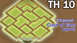 Clash of Clans Town Hall 10 TH10 Trophy and War Base Very Best