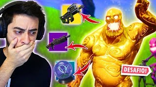 AGORA VAI! SÓ VALE LOOT DOS ZOMBIES!! - Fortnite