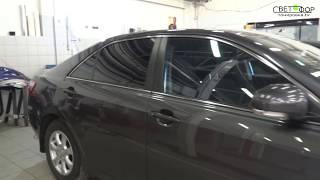 Тонировка автомобиля. Тонирующая 3М Color Stable + атермальная 3М Сrystalline70.Toyota
