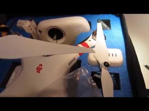 My Dirty Propellers & Grass Stains After First Flights - DJI Phantom 2 Vision+ (Plus) R/C Quadcopter