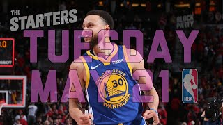 NBA Daily Show: May 21 - The Starters