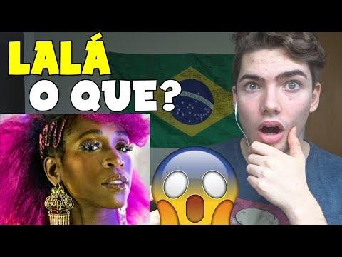 GRINGO REAGINDO a Karol conka - LaLá (Reaction)