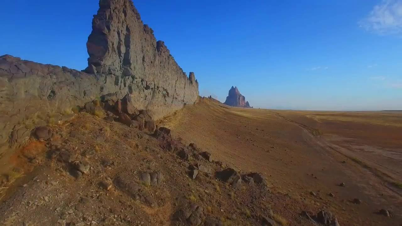 Download Shiprock & Bisti Badlands - New Mexico from Above 2016 - DJI Phamtom Aerial