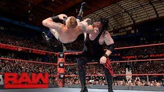 Heath Slater vs. Kane: Raw, Dec. 25, 2017